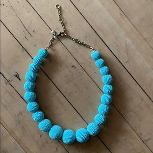 J.Crew Factory Beaded Orb Necklace